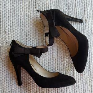 Nine West! Sz 8.5. Gently used. Fabulous heels